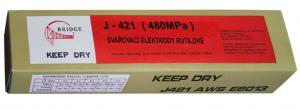 Rutilové elektrody 3,2mm J421 balení 5kg