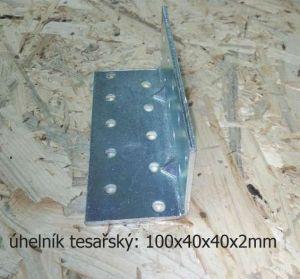 úhelník s prolisem 100x40mm